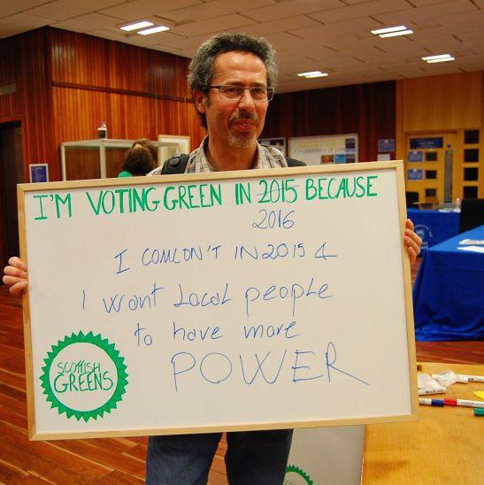 vote green 2016