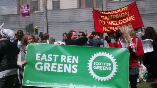 East Ren Greens against detention